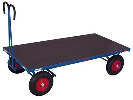 VARIOfit Handpritschenwagen ohne Bordwand 1265 x 800 mm