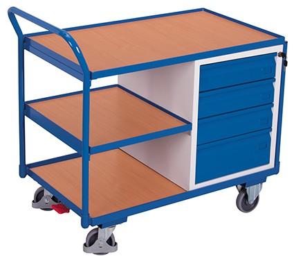VARIOfit Werkstattwagen mit 3 Ladeflächen 1125 x 625 mm
