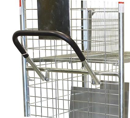 VARIOfit Schiebe-/Ziebügel für Kommissionierwagen