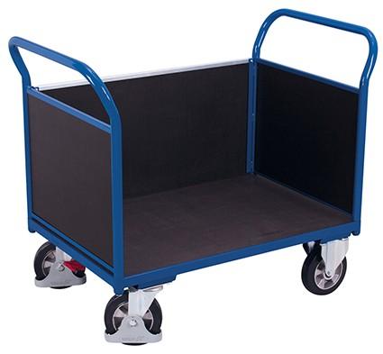 VARIOfit Dreiwandwagen mit Siebdruckplatte 1395 x 800 mm