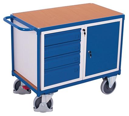 VARIOfit Werkstattwagen mit 1 Ladefläche 1190 x 600 mm