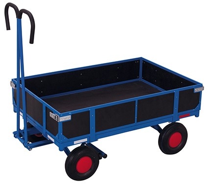 VARIOfit Handpritschenwagen mit Bordwand 1335 x 830 mm