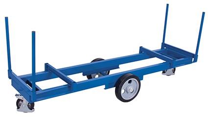 VARIOfit Langmaterialwagen mit 4 Rungen 2500 x 760 mm