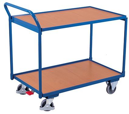 VARIOfit Tischwagen mit 2 Ladeflächen 1125 x 625 mm