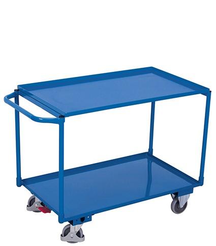VARIOfit Tischwagen mit 2 Ladeflächen 1170 x 610 mm