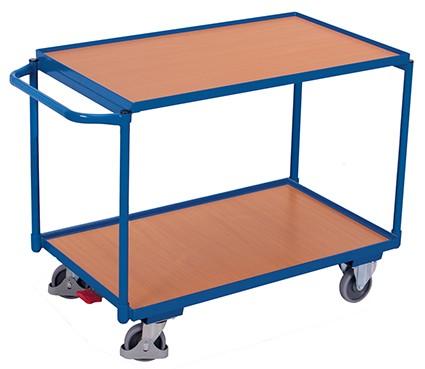 VARIOfit Tischwagen mit 2 Ladeflächen 1025 x 525 mm