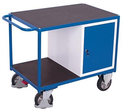 VARIOfit Schwerlast Werkstattwagen mit 2 Ladeflächen 1390 x 800 mm