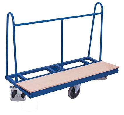 VARIOfit Plattenwagen mit rhombischer Rollenanordnung 1500 x 680 mm