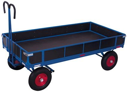 VARIOfit Handpritschenwagen mit Bordwand 1280 x 830 mm