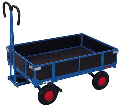 VARIOfit Handpritschenwagen mit Bordwand 1135 x 730 mm