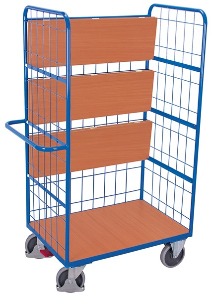 VARIOfit Etagenwagen hoch mit klappbaren Etagenböden 1200 x 700 mm
