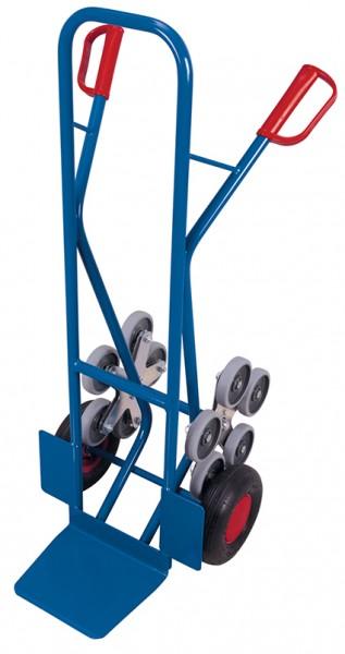 VARIOfit Treppenkarre mit 2 fünfarmigen Radsternen 610 x 675 mm