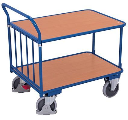 VARIOfit Schiebebügelwagen als Tischwagen 1305 x 705 mm