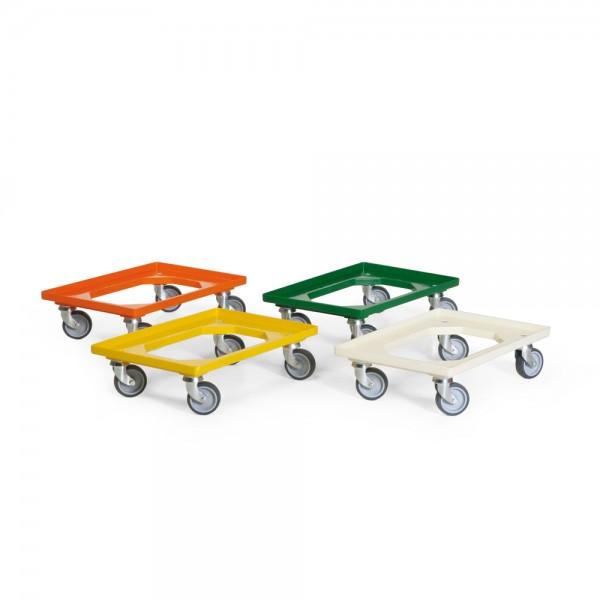 Fahrrahmen aus ABS-Kunststoff, Gelb