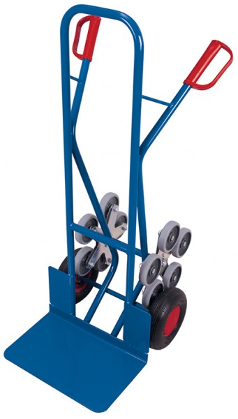 VARIOfit Treppenkarre mit 2 fünfarmigen Radsternen 610 x 725 mm