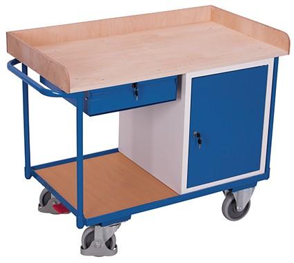 VARIOfit Werkstattwagen mit 2 Ladeflächen 1220 x 640 mm
