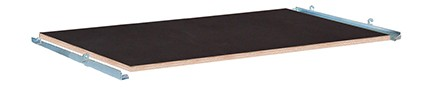 VARIOfit Sperrholz Etagenboden film/siebbeschichtet 1040 x 670 mm