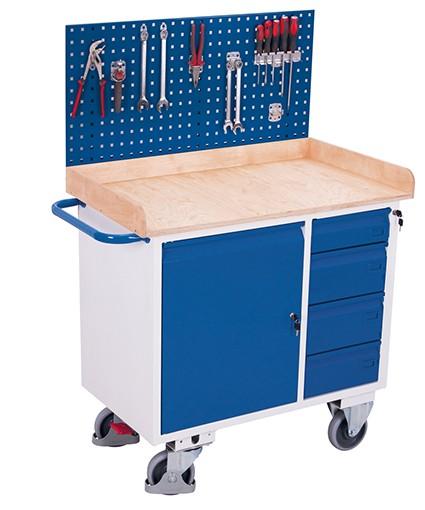 VARIOfit Werkzeugwand für Werkstattwagen