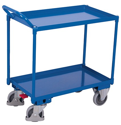 VARIOfit Tischwagen mit 2 Ladeflächen 1165 x 700 mm