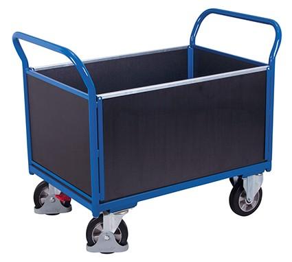 VARIOfit Vierwandwagen mit Siebdruckplatte 1395 x 800 mm