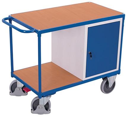 VARIOfit Werkstattwagen mit 2 Ladeflächen 1190 x 600 mm