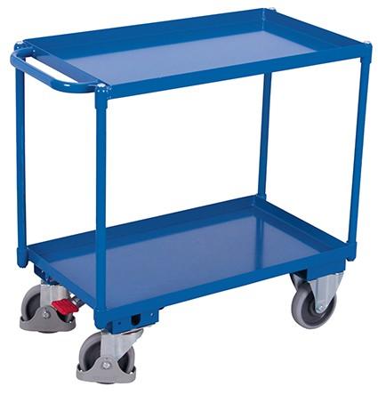 VARIOfit Tischwagen mit 2 Ladeflächen 985 x 500 mm