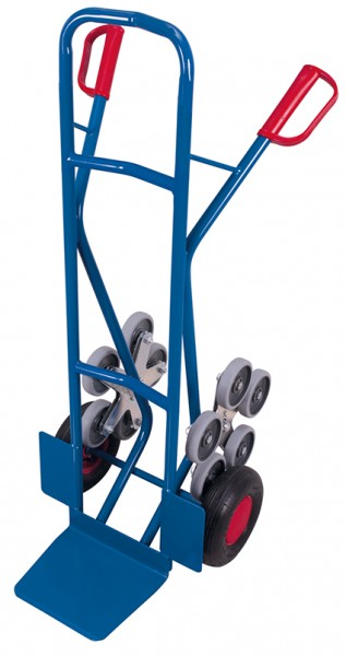 VARIOfit Treppenkarre mit 2 fünfarmigen Radsternen 610 x 705 mm